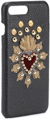 Dolce & Gabbana Leather iPhone 7 Plus case
