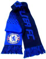 Chelsea F.C. Chelsea FC Official Fade Football Crest Supporters Scarf