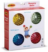 Edushape Sensory Balls - Set of 4