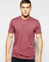Element T-shirt With Single Pocket - Red