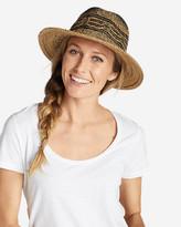Eddie Bauer Women's Ravenna Straw Fedora Hat