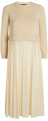 Max Mara Knitted Midi Dress