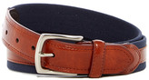 Tailorbyrd Leather & Canvas Belt