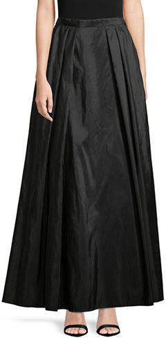 Alex Evenings Long Full Taffeta Skirt