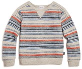Splendid Boys' Striped French Terry Sweatshirt - Sizes 2-7
