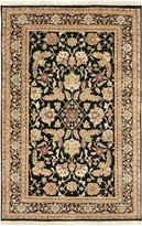 Surya TJ44-23 Black Taj Mahal Collection Rug - 2ft X 3ft