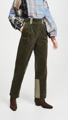 Ganni Stretch Corduroy Pants