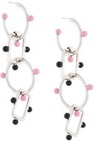Marni large chain pendant earrings