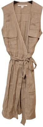 Diane von Furstenberg Ecru Linen Dresses