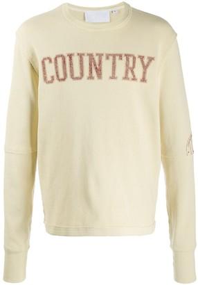 Telfar Printed Country' Sweatshirt