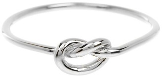 Sterling Forever Sterling Silver Thin Love Knot Ring
