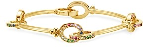 Temple St. Clair 18K Yellow Gold Celestial Rainbow Gemstone Orsina Link Bracelet