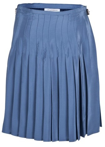 J.W.Anderson Baby Blue Pleated Skirt