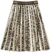 Roberto Cavalli Leopard Print Maxi Skirt