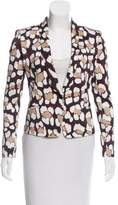 Just Cavalli Structured Abstract Print Blazer w/ Tags
