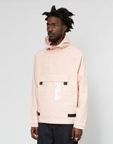 Fila Dune Half Zip Logo Jacket Pink