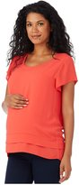 Rosie Pope Maternity Charlie Top - Poppy-X-Small