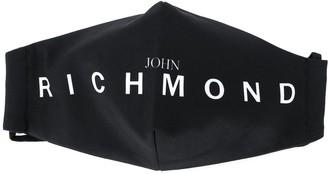 John Richmond Logo Print Face Mask