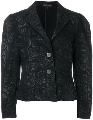 A.N.G.E.L.O. Vintage Cult snake print jacket