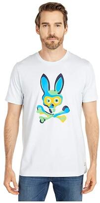 Psycho Bunny Dallington T-Shirt (Forgetmenot) Men's Clothing