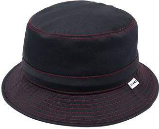 Sunnei Contrast Stitching Bucket Hat