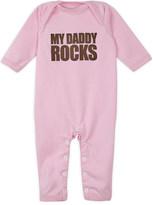 Snuglo My Daddy Rocks baby-grow 0-6 months