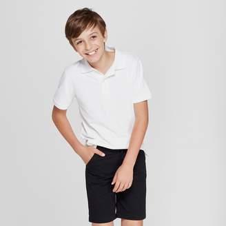 Cat & Jack Boys' Short Sleeve Stain Release Uniform Polo Shirt - Cat & JackTM