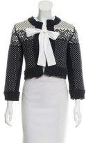 Dolce & Gabbana Cropped Wool Cardigan