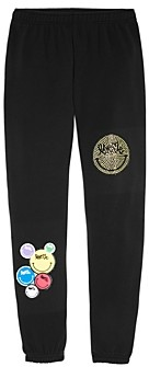Butter Shoes Girls' Love Me Patch Jogger Pants - Little Kid, Big Kid