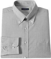 Croft & Barrow Men's Classic-Fit Mini-Grid Dress Shirt