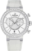 Swarovski Citra Sphere Chrono White Watch