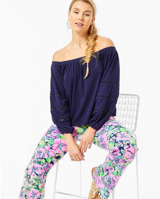 Lilly Pulitzer Katt Off-The-Shoulder Top