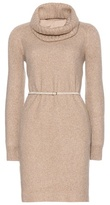 Loro Piana Ellen Cashmere Dress With Detachable Belt And Scarf