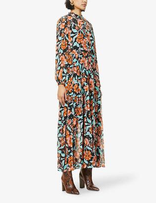 Diane von Furstenberg Nea floral-print silk-blend maxi dress