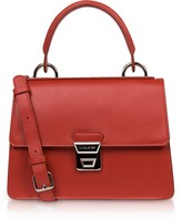 Lancaster Paris Garance Leather Top Handle Shoulder Bag