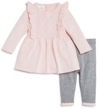 Bloomingdale's Bloomie's Girls' Ruffled Sweater Tunic & Knit Leggings Set, Baby - 100% Exclusive