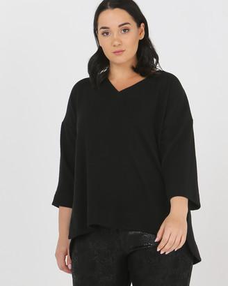 Advocado Plus Assembly Side Split Sweater