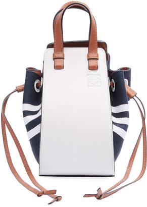 Loewe Hammock Striped Sailor Shoulder Bag