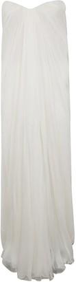 Alexander McQueen Sleeveless Straight Long Dress