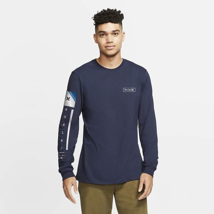 c2370ea6cb Men's Premium Fit T-Shirt Hurley Premium Right Arm Long-Sleeve