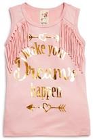 Lily Bleu Girls' Make Your Dreams Happen Tank - Sizes 2-6X