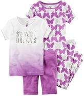 Carter's Toddler Girl Butterfly 4-pc. Pajama Set