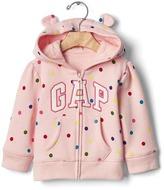 Gap Logo terry bear hoodie