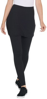 Legacy Brushed Jersey Skirted Legging