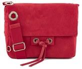 Vanessa Bruno Women's Suede Cross Body Bag Red
