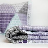 Dormify Patchwork Prism Quilted Coverlet and Sham Set - Queen
