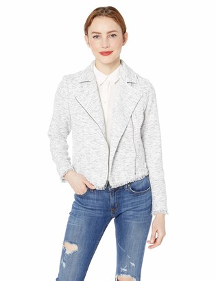 Cupcakes And Cashmere Women's Clementine Tweed Moto Jacket