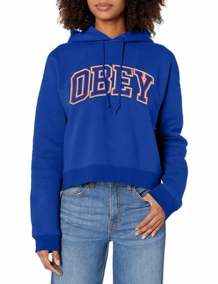 Obey Women's Conrad Cropped Hood