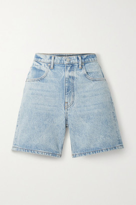 Alexander Wang Denim Shorts - Light denim