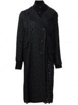 Sacai guipure lace coat